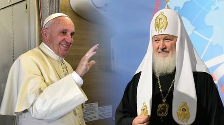 Le pape François et le Patriarche Cyrille