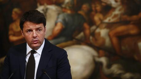 Le Président du Conseil italien Matteo Renzi a de nouveau chargé la politique d'austérité prônée par l'Union européenne
