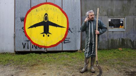 Un fermier opposé au projet d'aéroport de Notre-Dame-des-Landes