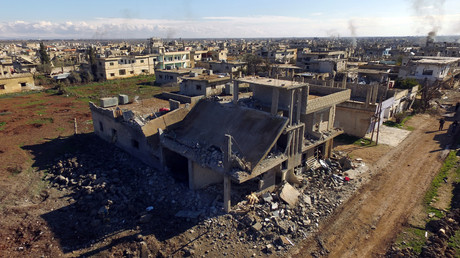 Une ville syrienne