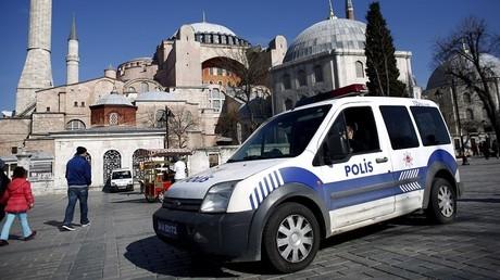 Un véhicule de police turc à Istambul