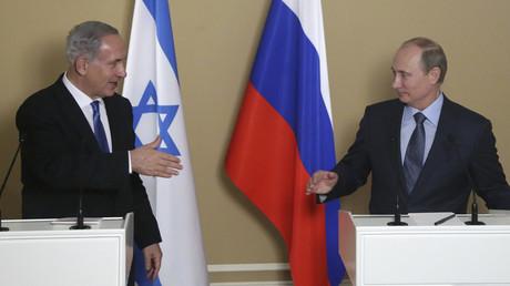 Benjamin Netanyahou et Vladimir Poutine