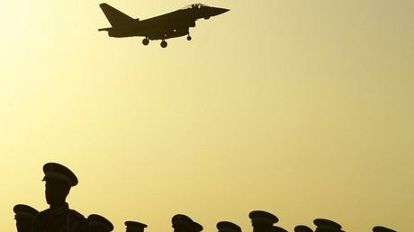 Un avion de combat saoudien