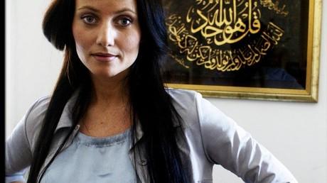 La fondatrice de la mosquée, Sherin Khankan, est une figure médiatique bien connue au Danemark