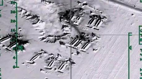Frappes russes contre des installations pétrolières dans la région d'Alep