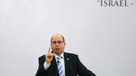 Le ministre de la Défense israélien Moshe Ya'alon