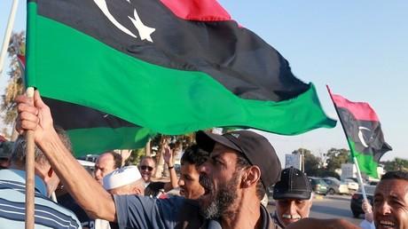 Une manifestation abti-ONU à Benghazi en septembre 2015