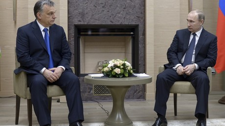 Viktor Orban et Vladimir Poutine