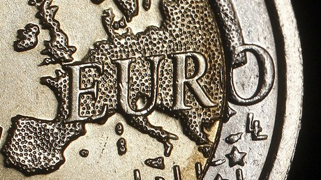 Le continent européen sur la pièce de monnaie de deux euros