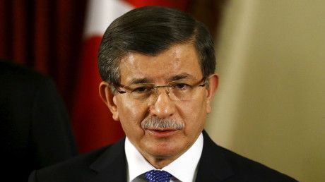 Ahmet Davutoglu, le Premier ministre turc