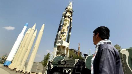 Missiles de fabrication iranienne au musée de Téhéran