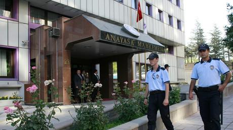 La Cour constitutionnelle turque à Ankara