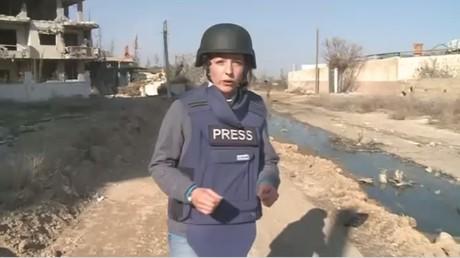 La correspondante de RT Lizzie Phelan se rend à Darayya