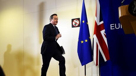 David Cameron, Premier ministre britannique