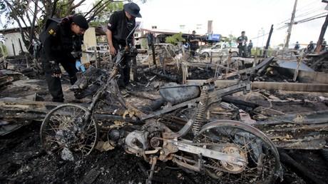 Au moins deux morts et sept blessés dans une explosion dans le Sud de la Thaïlande