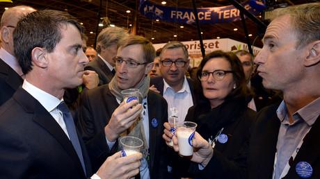 Manuel Valls au Salon de l'Agriculture