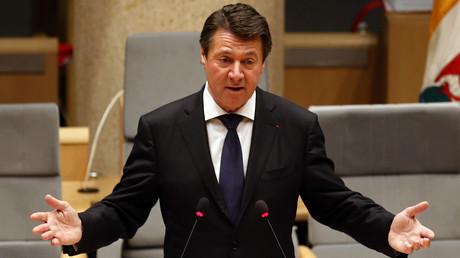 Christian Estrosi, le maire de Nice