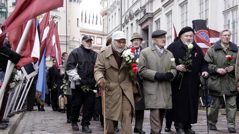 """Résultat de recherche d'images pour """"lettonie défilés nazis à Riga"""""""