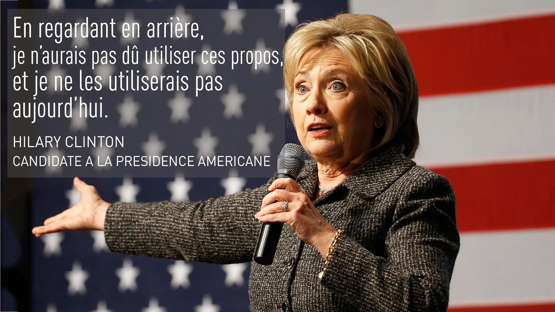Les afro-américains, «des super-prédateurs» : Hillary Clinton a-t-elle sincèrement changé d'avis ?