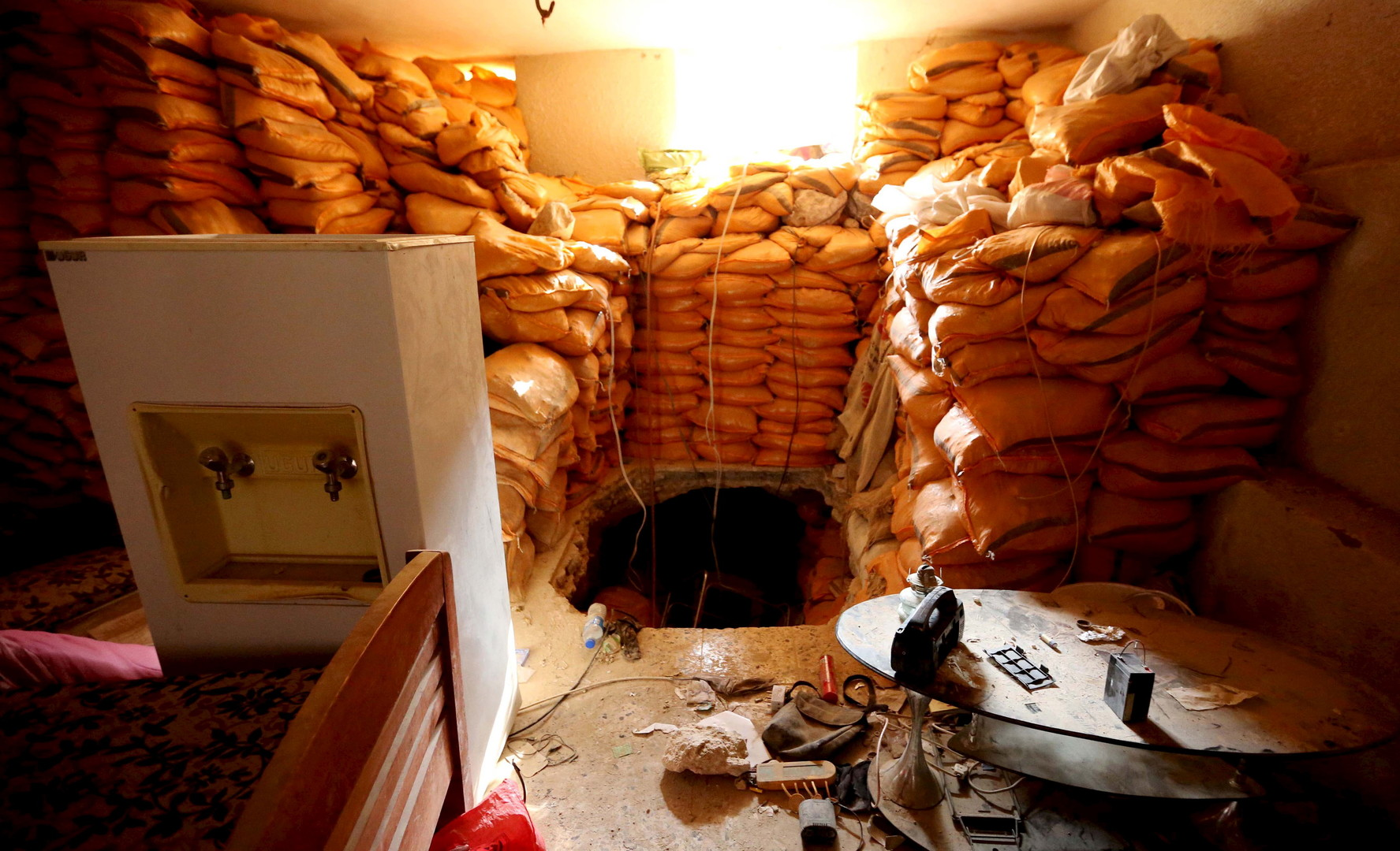 Un tunnel de Sinjar