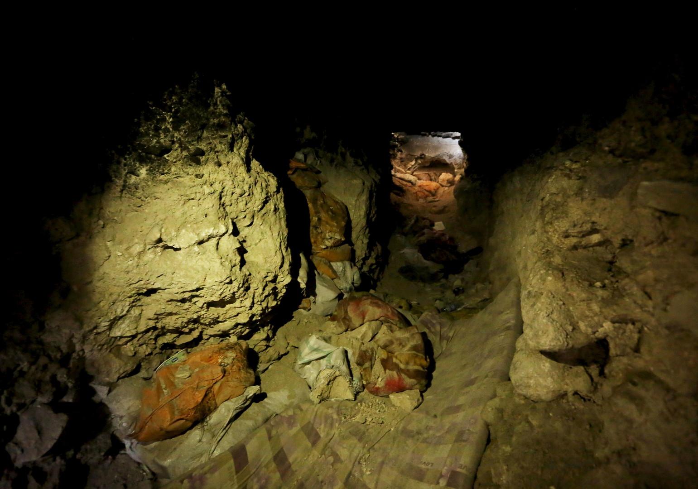 Daesh a creusé de vastes tunnels sous les villes pour fuir les forces kurdes