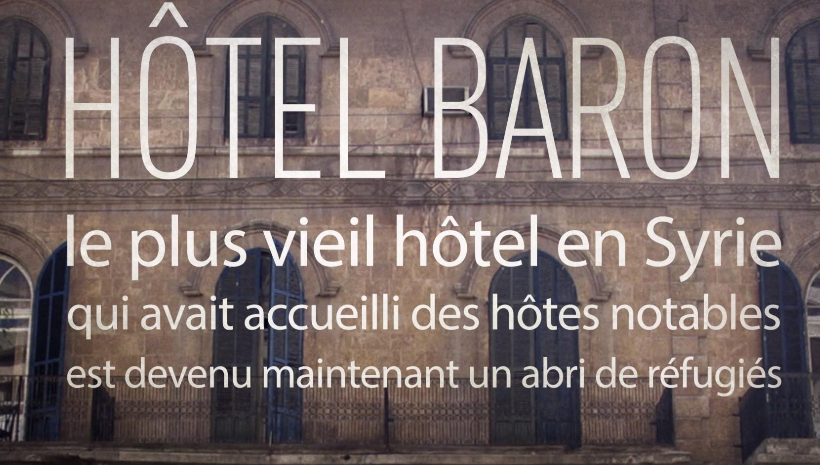 Après avoir reçu Charles de Gaulle et Agatha Christie, un hôtel d'Alep accueille les réfugiés