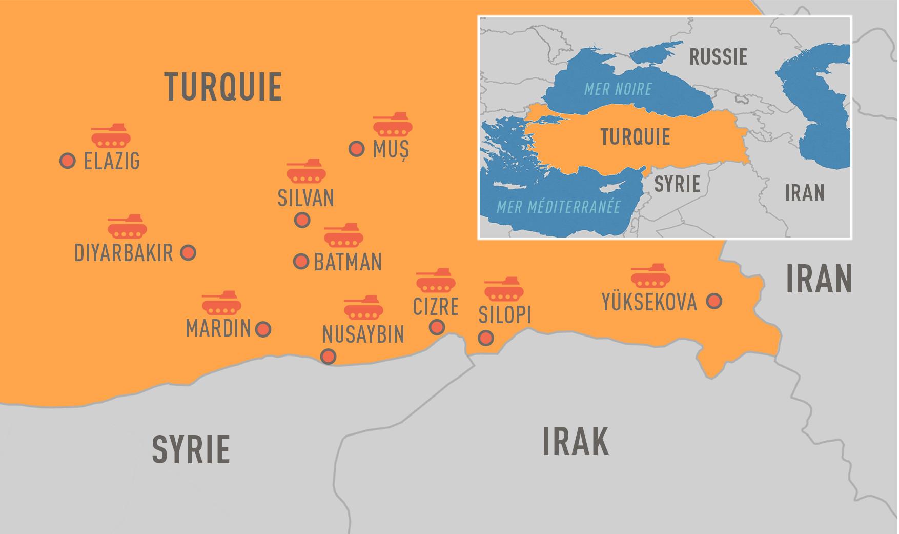 Des vies brisées, des maisons détruites : retour sur l'opération d'Ankara contre les Kurdes