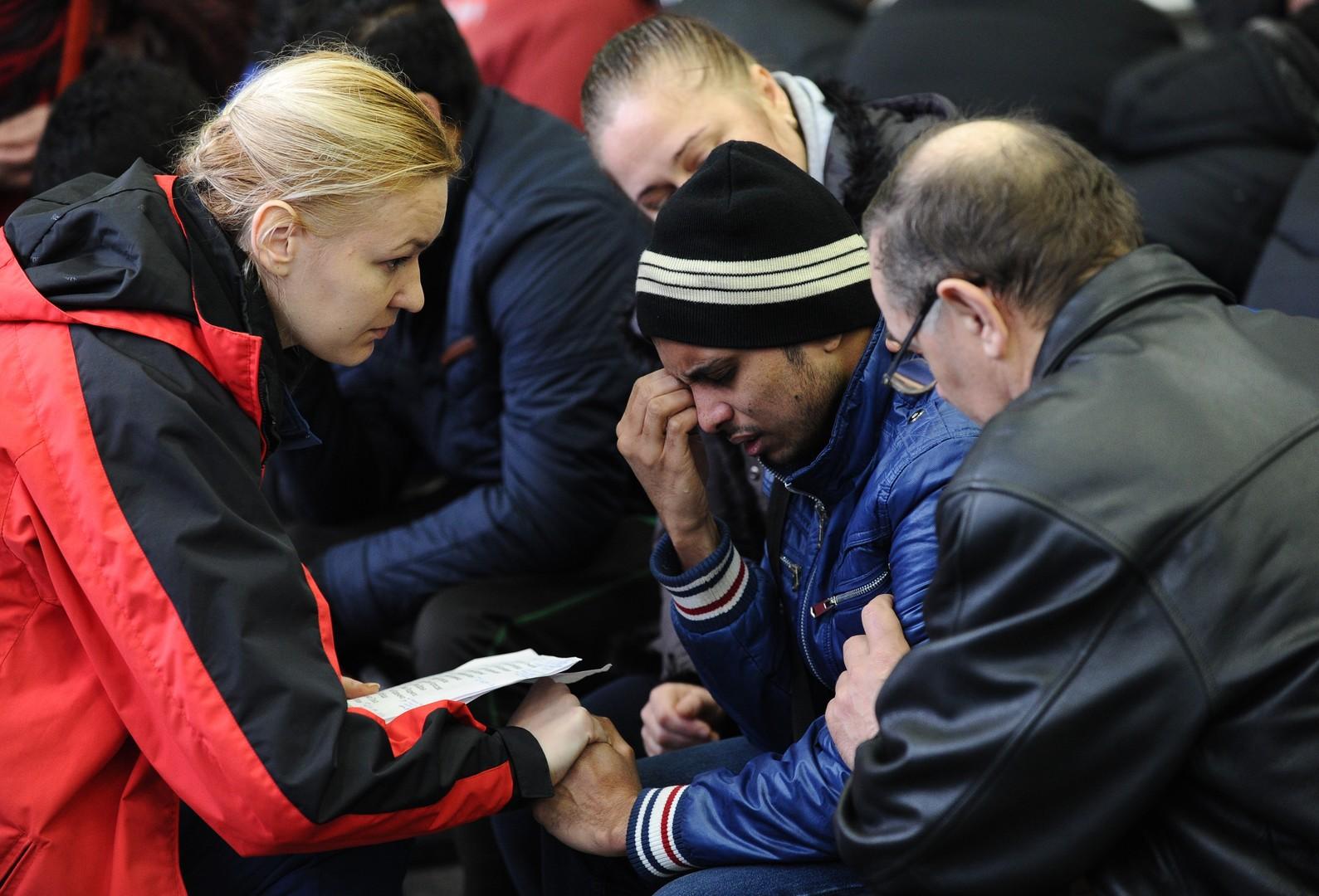 Proches des passagers de l'avion qui s'est écrasé