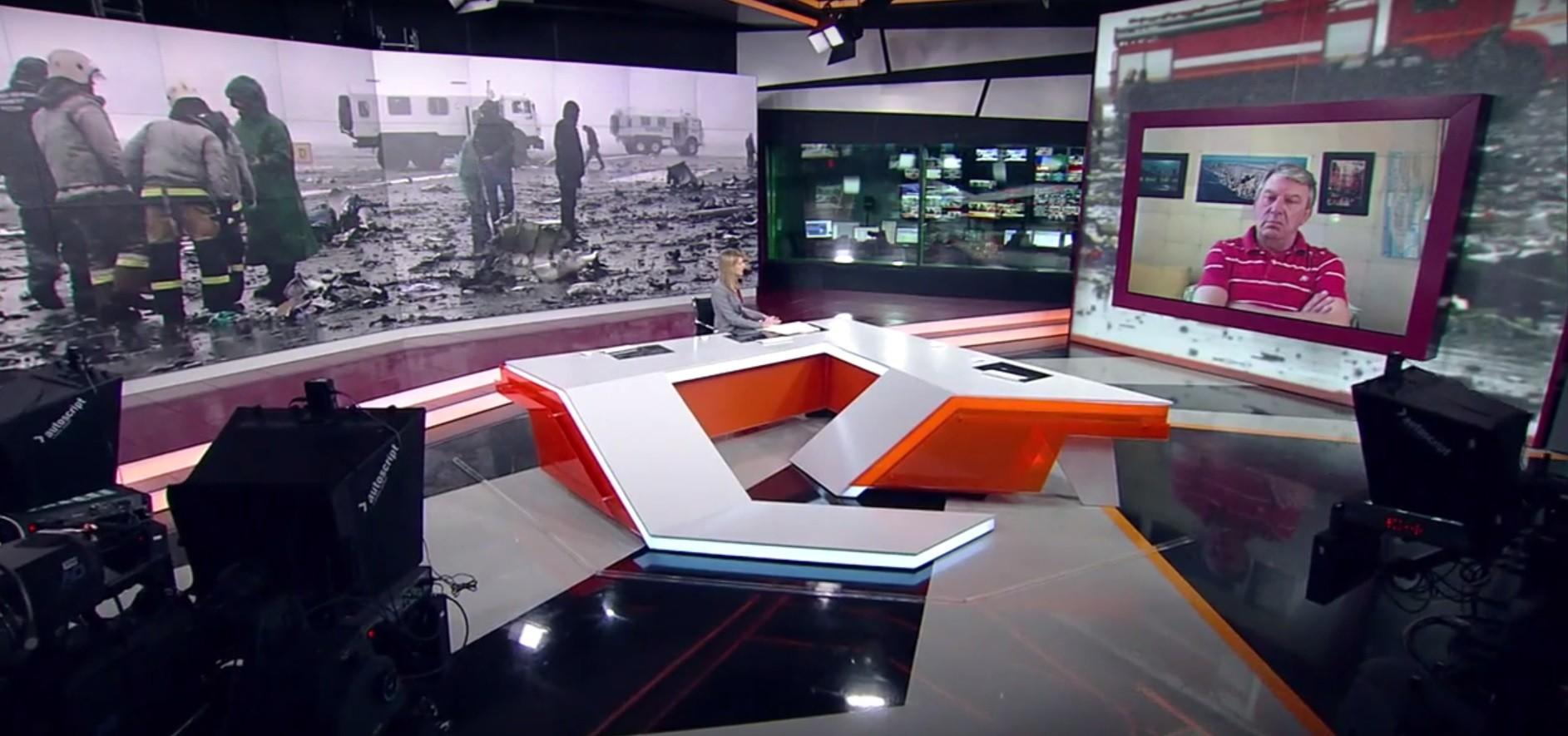 Ivan Troukhanov lors d'une émission sur RT