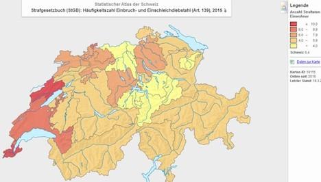 Genève est la ville la moins sûre de la paisible Suisse