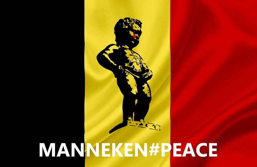 Les Belges s'arment d'humour et de sandwichs «mitraillette» contre le terrorisme