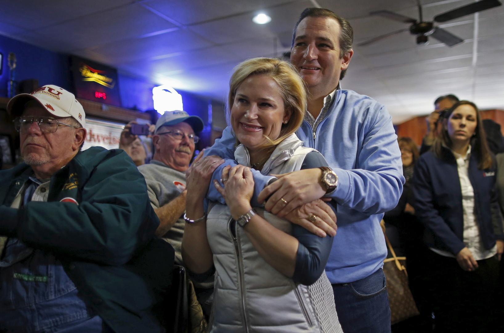 Crêpage de chignon entre Donald Trump et Ted Cruz au sujet...de leurs femmes ! (PHOTOS)