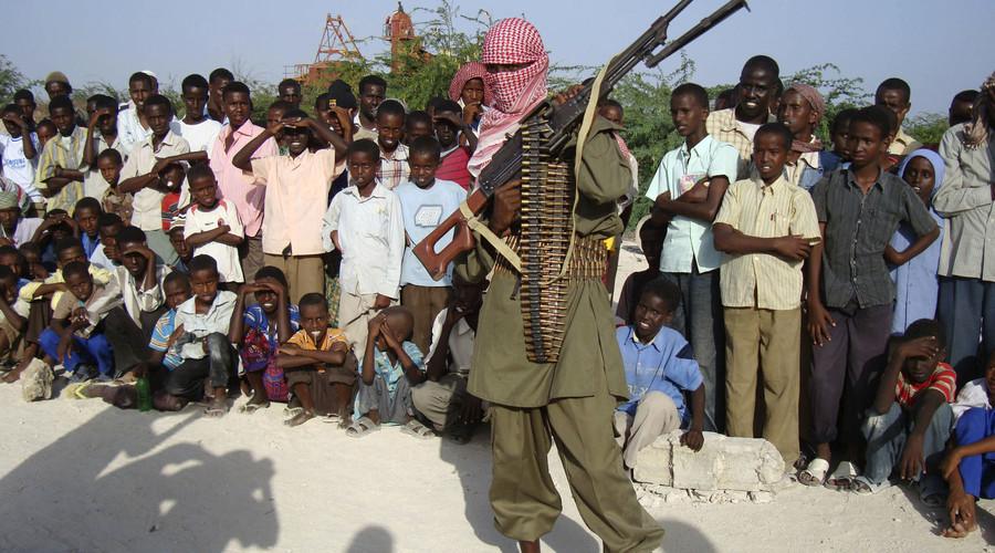 Combattant islamiste d'Al-Shabaab
