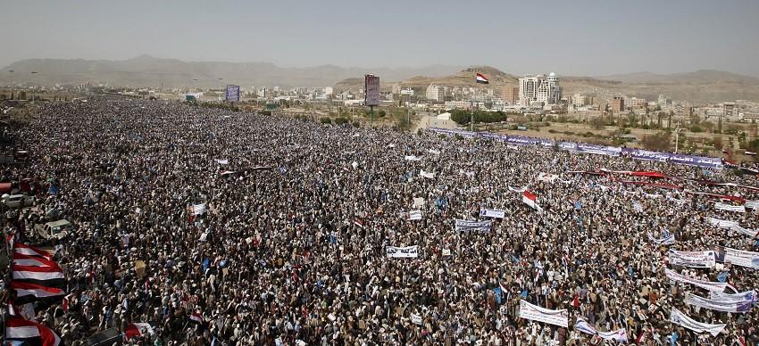 Yémen :  une marée humaine contre le premier anniversaire de la guerre civile (PHOTOS, VIDEOS)