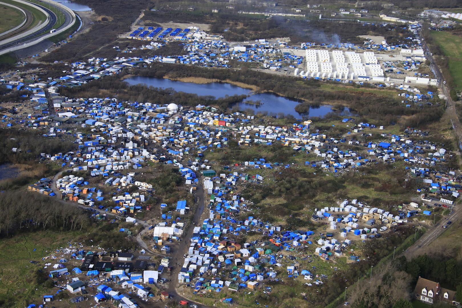 Des photos impressionnantes montrent la «Jungle» de Calais avant et après la démolition (PHOTOS)