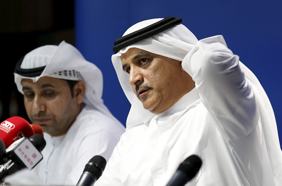 Le chef exécutf de FlyDubai Ghaith Al Ghaith