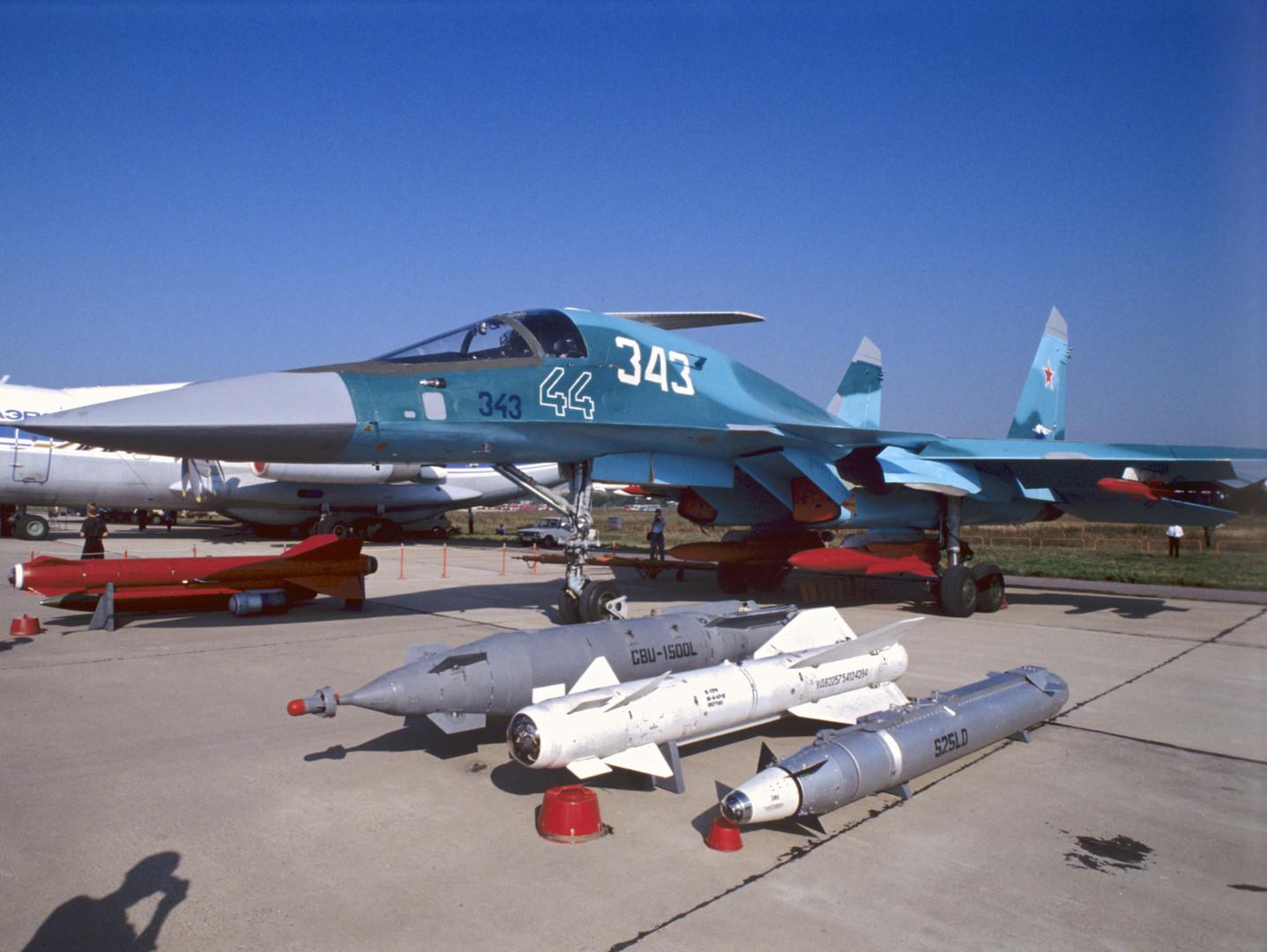 Un bombardier SU-32