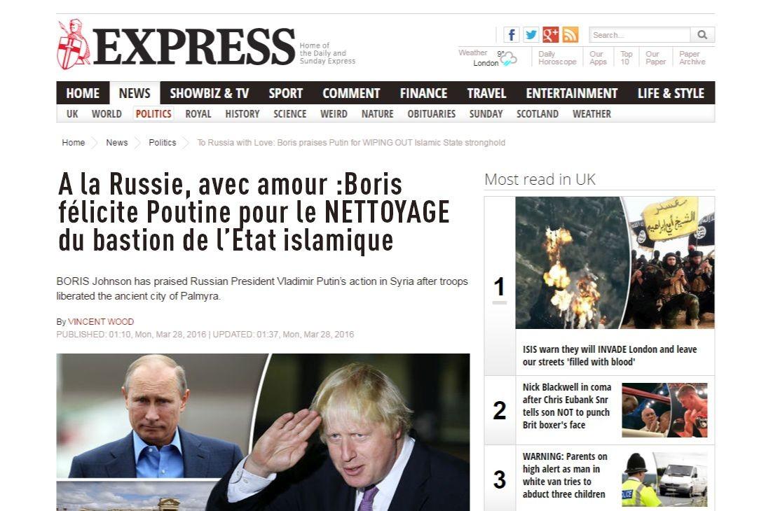 Le titre de The Express