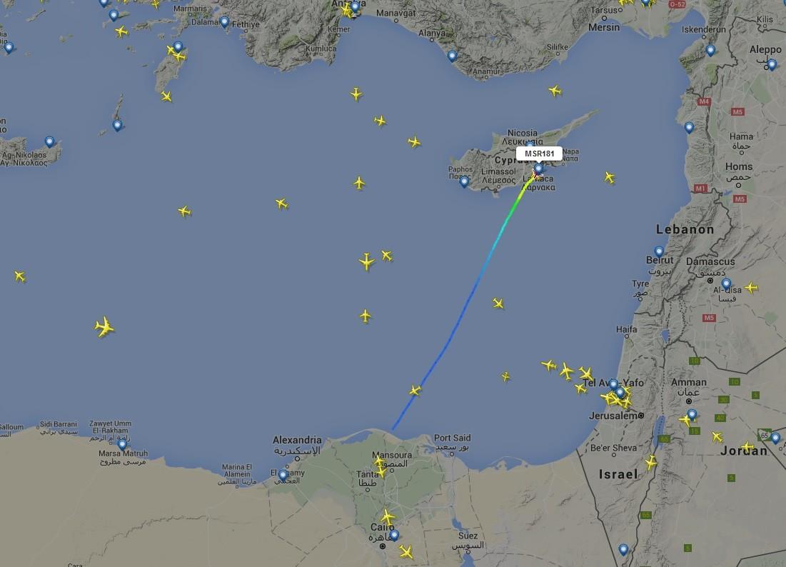 EN CONTINU: détournement de l'avion d'EgyptAir : pas d'explosifs ni sur le pirate ni dans l'avion