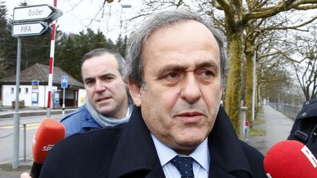 L'ancien président de l'UEFA, Michel Platini