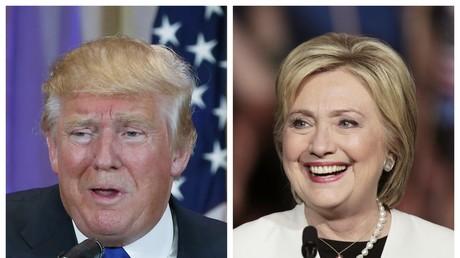 Donald Trump et Hillary Clinton, les deux grands vainqueurs du «Super mardi», le 1er mars 2016