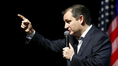 Ted Cruz, candidat à l'investiture du parti républicain