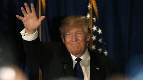 Donald Trump, candidat républicain à la présidence des Etats-Unis