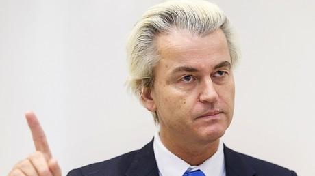 Geert Wilders, fondateur du Parti des libertés, anti-immigration et anti-Islam