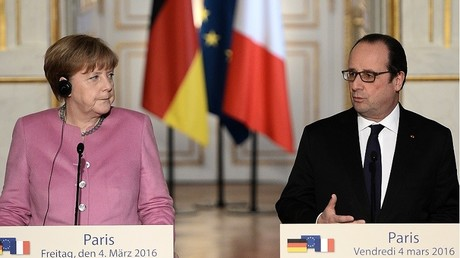 Angela Merkel et François Hollande se rencontrait aujourd'hui à l'Elysée. Au programme, principalement, la crise européenne des migrants