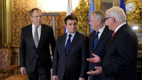 Ukraine : peu de progrès à l'issue de la réunion au format Normandie à Paris