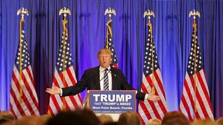 Le candidat américain aurait été la cible d'Anonymous