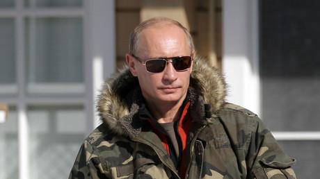 Vladimir Poutine, le président russe