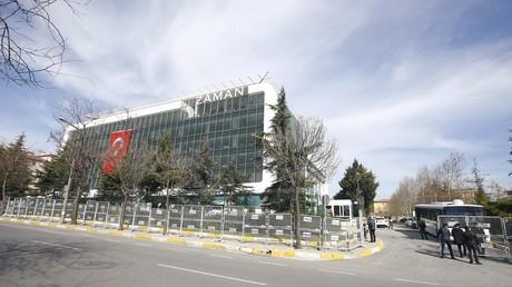 Le siège de Zaman à Istanbul
