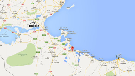 La ville tunisienne de Ben Gardan (Source : Wikipedia)